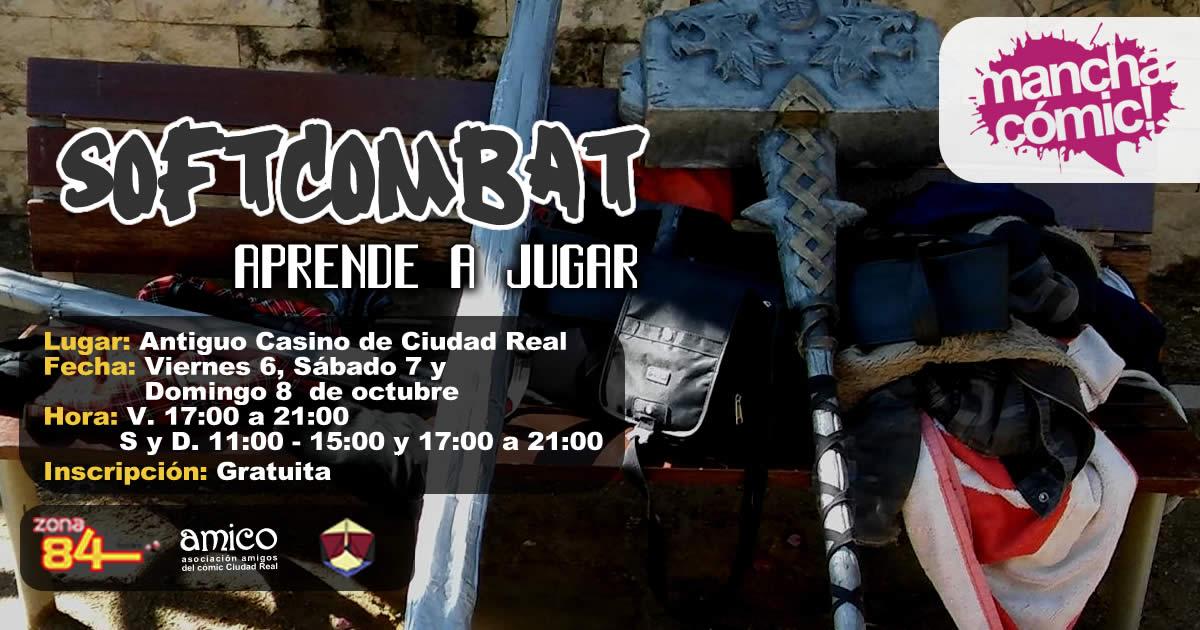 Demostración Softcombat – Manchacómic 2017